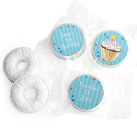 Cupcake Dazzle Personalized Birthday LIFE SAVERS Mints Assembled
