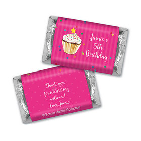 Cupcake Dazzle Personalized Miniature Wrappers