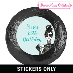 In Vogue Birthday Favors 1.25in Stickerss