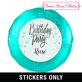 "Sunny Soiree Birthday Favors 1.25"" Sticker (48 Stickers)"