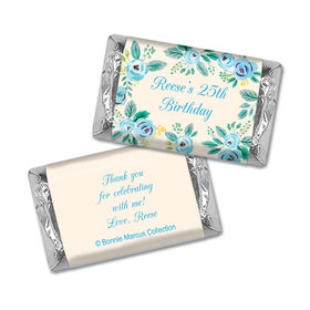 Here's Something Blue Birthday Personalized Miniature Wrappers