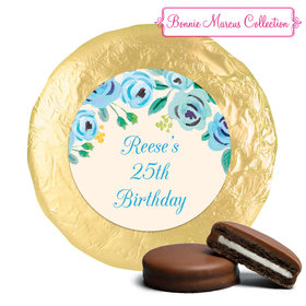 Here's Something Blue Birthday Favors Milk Chocolate Covered Oreos Assembled (24 Pack)