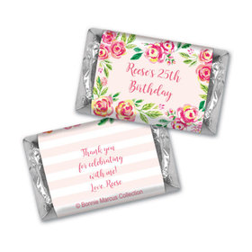 In the Pink Birthday MINIATURES Candy Personalized Assembled