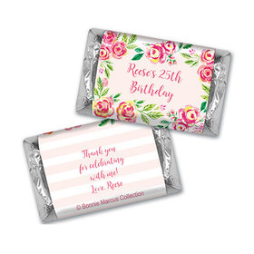 In the Pink Birthday Personalized Miniature Wrappers