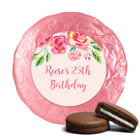 In the Pink Birthday Favors Milk Chocolate Covered Oreo Cookies Assembled (24 Pack)