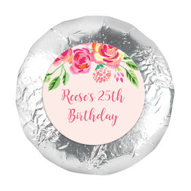 "In the Pink Birthday Favors 1.25"" Sticker (48 Stickers)"