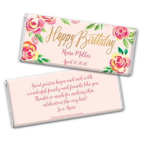 In the Pink Birthday Favorsby Bonnie Marcus Personalized Candy Bar - Wrapper Only