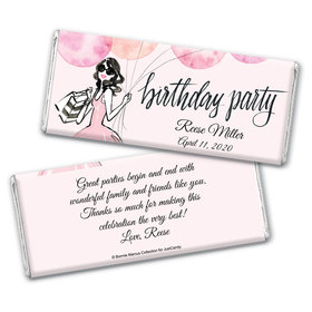 Blithe Spirit Birthday Personalized Candy Bar - Wrapper Only