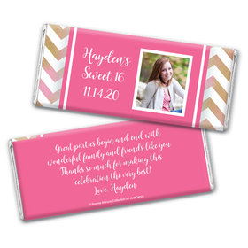 Picture Your Birthday Personalized Candy Bar - Wrapper Only