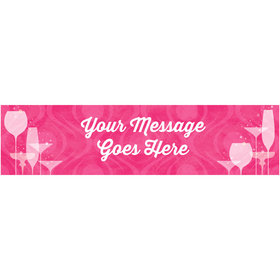 Personalized Born to Be Fabulous Banner