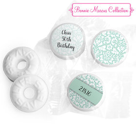Bask in Damask Personalized Birthday LIFE SAVERS Mints Assembled