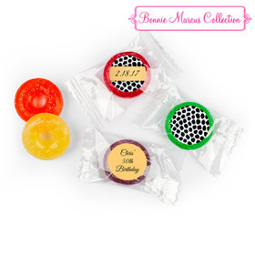 Spotted Safari Personalized Birthday LIFE SAVERS 5 Flavor Hard Candy Assembled