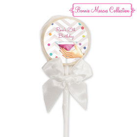 Bonnie Marcus Collection Personalized Lollipop Here's to You (24 Pack)