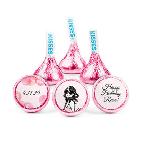 Personalized Bonnie Marcus Birthday Blithe Spirit Hershey's Kisses (50 pack)