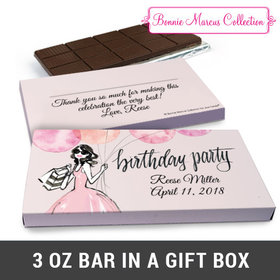 Deluxe Personalized Blithe Spirit Chocolate Bar in Gift Box (3oz Bar)