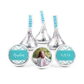 Personalized Birthday Chevron Hershey's Kisses (50 pack)