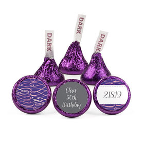 Personalized Bonnie Marcus Birthday Magic Hershey's Kisses (50 pack)