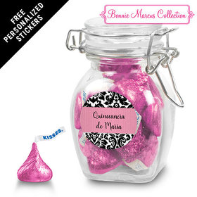 Bonnie Marcus Collection Personalized Latch Jar Quinceaera (6 Pack)