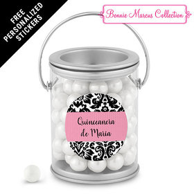Bonnie Marcus Collection Personalized Paint Can Quinceaera (25 Pack)