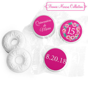 Personalized Bonnie Marcus Wreath Quinceanera Life Savers Mints