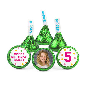 Personalized Bonnie Marcus Birthday Tropical Hershey's Kisses (50 pack)
