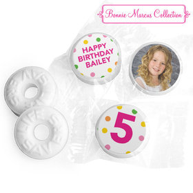 Personalized Life Savers Mints - Bonnie Marcus Birthday Tropical