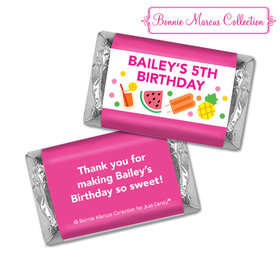 Personalized Hershey's Miniatures - Bonnie Marcus Tropical Birthday