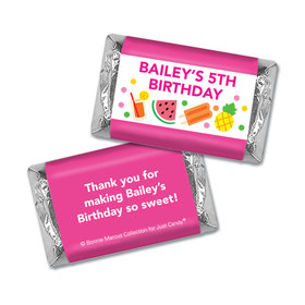 Personalized Mini Wrappers Only - Bonnie Marcus Tropical Birthday