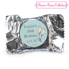 Personalized York Peppermint Patties - Birthday Bubbly Party Blue