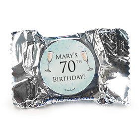 Personalized Birthday Champagne Party York Peppermint Patties