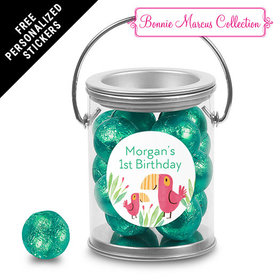 Bonnie Marcus Collection Personalized Paint Can Safari Snuggles (25 Pack)