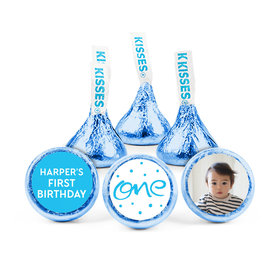 Personalized Birthday Doodle One Hershey's Kisses (50 pack)