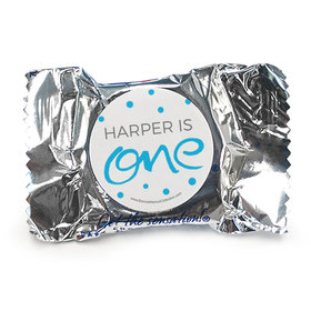 Personalized Doodle One First Birthday York Peppermint Patties