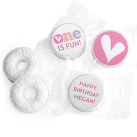 Personalized Bonnie Marcus Adorable One Birthday Life Savers Mints