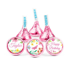 Personalized Birthday Blossom Hershey's Kisses (50 pack)