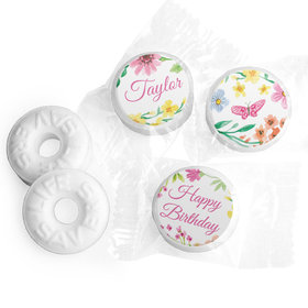 Personalized Bonnie Marcus Blossom Birthday Life Savers Mints