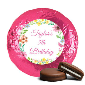 Personalized Bonnie Marcus Birthday Blossom Chocolate Covered Oreos (24 Pack)