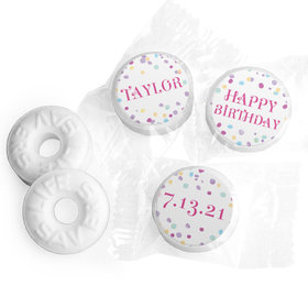 Personalized Bonnie Marcus Sprinkling Confetti Birthday Life Savers Mints