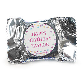 Personalized Bonnie Marcus Birthday Sprinkling Confetti York Peppermint Patties