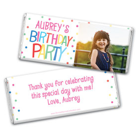 Personalized Bonnie Marcus Birthday Sweet Celebration Chocolate Bar & Wrapper