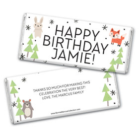 Personalized Bonnie Marcus Birthday Scouting Pals Chocolate Bar & Wrapper