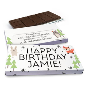 Deluxe Personalized Scouting Pals Birthday Chocolate Bar in Gift Box (3oz Bar)