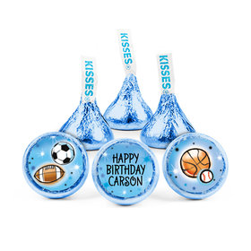 Personalized Birthday Airbrush Athletics Hershey's Kisses (50 pack)