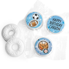 Personalized Bonnie Marcus Airbrush Athletics Birthday Life Savers Mints
