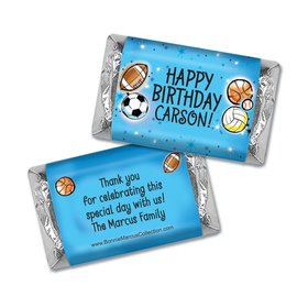 Personalized Bonnie Marcus Birthday Blossom Photo Mini Candy Bar Wrapper