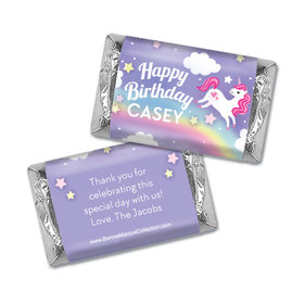 Personalized Bonnie Marcus Birthday Blossom Photo Hershey's Miniatures