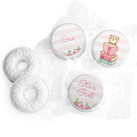 Story Time Baby Girl Personalized LIFE SAVERS Mints Assembled