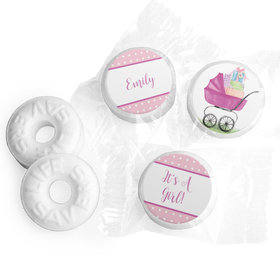 Rockabye Baby Girl Personalized LIFE SAVERS Mints Assembled