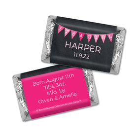 Bonnie Marcus Collection Personalized Chocolate Bar It's a Girl Banner Birth Announcement