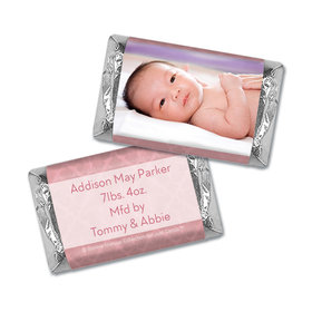 Bonnie Marcus Collection Personalized Chocolate Bar Baby Photo Birth Announcement